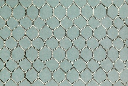 Sentinel chicken wire pattern rug by Giles Deacon for The Rug Company