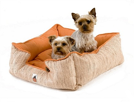 custom reversible microsuede dog bed from Zoomies