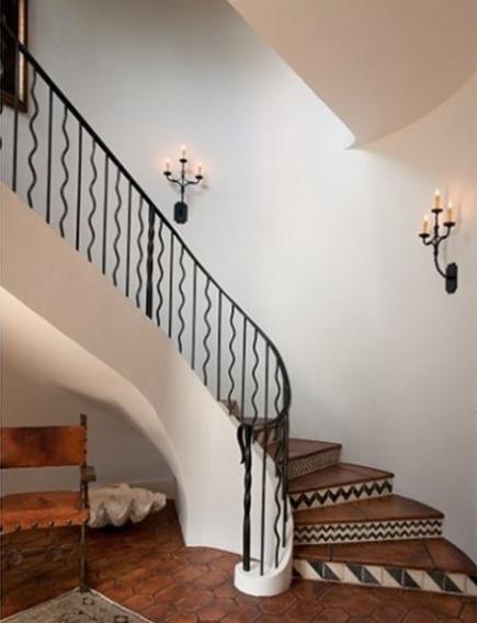 fun wrought iron staircase. Wrought Iron Staircase Railing