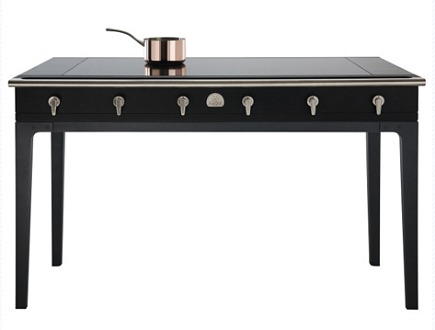 La Cornue W Collection induction table - via Atticmag