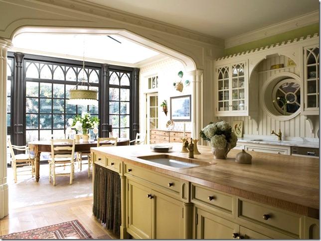 Gothic Revival Interior Design gothic revival kitchen