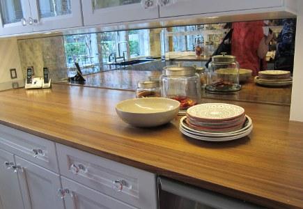 Kitchen Of The Year Butleru0027s Pantry   Smoked Mirror Backsplash In Mick De  Giuliou0027s Kitchen Of
