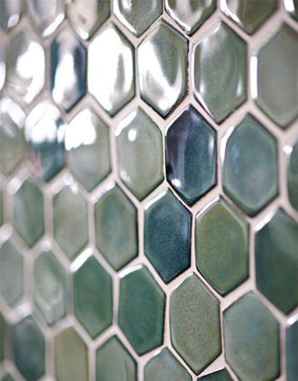hex tile kitchen close up of trikeenen basics outer galaxy hexagonal field tile house beautiful