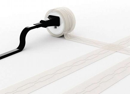 stocking stuffer gift ideas - Post Line Flat Extension cord - trend hunter via Atticmag