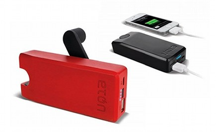 stocking stuffer gift ideas - Eton wind up mobile phone charger - better living through design via atticmag