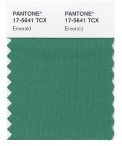 Emerald, Pantone Color of the Year 2013