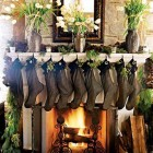 Luxurious Christmas Mantels