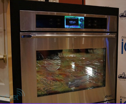 Dacor android powered wall oven
