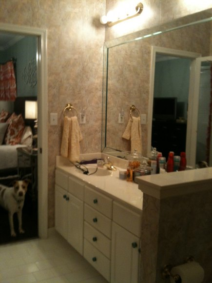 sink lighting before master bath redo - atticmag