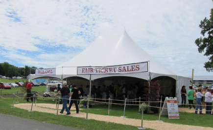 Country Living Fair at Dutchess County Fairgrounds, Rhinebeck, NY