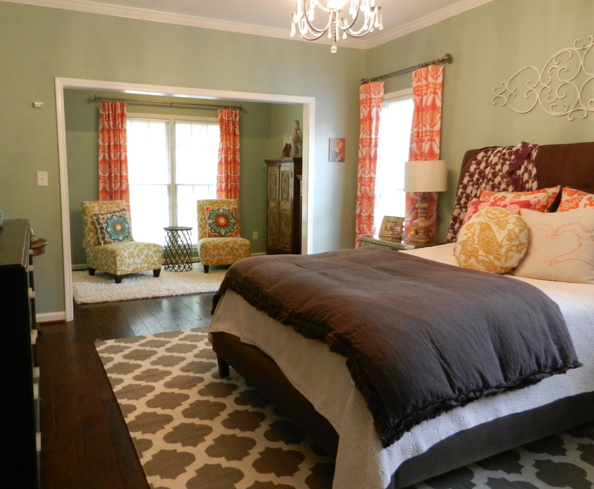 Master Bedroom Decorating Ideas Eclectic Master Bedroom Suite With Surya Flat Weave Rug Atticmag