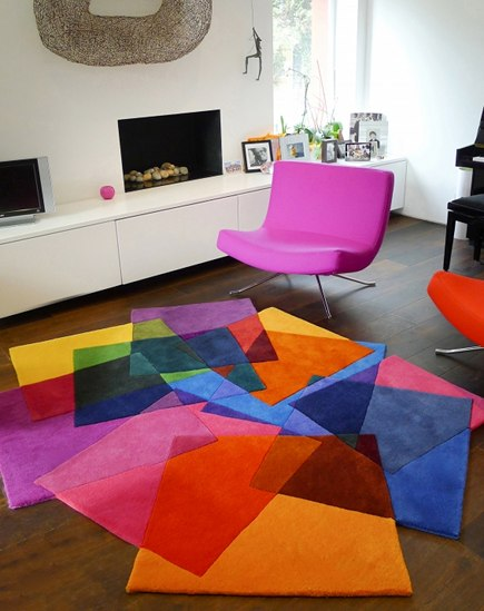 A Collection Of Colorful Modern Rugs Inspired By The Great French Artist Henri Matisse
