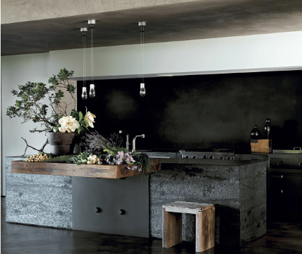 kitchen by Jeffrey Alan Marks, photo: Douglas Friedman. via Atticmag