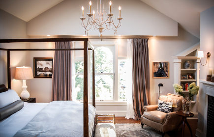 bedroom space of attic transformed into an attic master bedroom suite - Atticmag