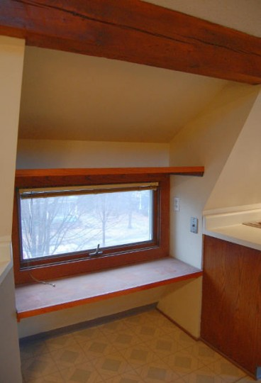 dormer window in attic prior to renovation of space into master bath - Atticmag