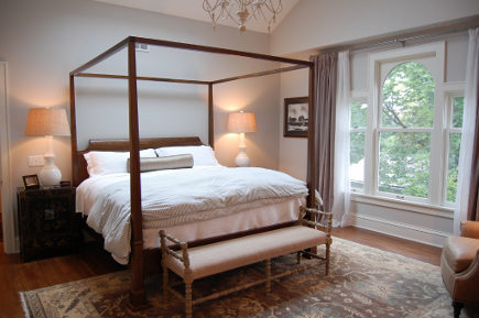 outdated attic transformed into a master bedroom suite - Atticmag
