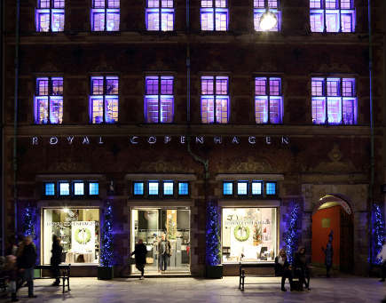 Royal Copenhagen flagship store - Royal Copenhagen via Atticmag