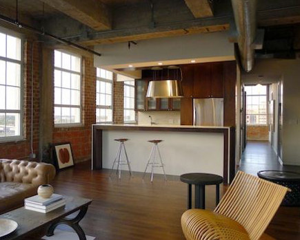 Houston loft with open kitchen - Build-Content via Atticmag