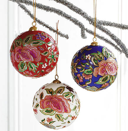 Cloisonne Ornaments - Smithsonian Museum via Atticmag