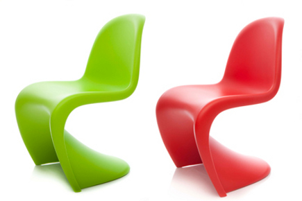 Verner Panton Junior Chair - Dallas Museum of Art via Atticmag