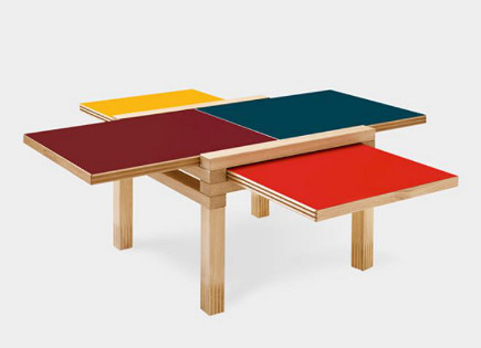 Par4 Coffee Table - MOMA via Atticmag