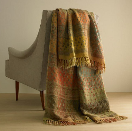 Woven Drops Throw  -The Art Institute of Chicago via Atticmag