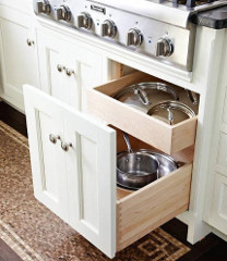 special kitchen cabinet features - Atticmag