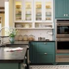 Blue-Green Kitchens