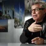 Daniel Libeskind - photo by Michael Klinkhamer - Where Architects Live via Atticmag