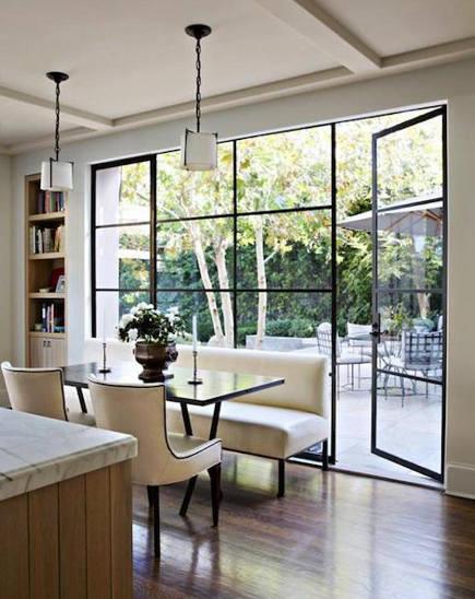 Kitchen banquette sofas