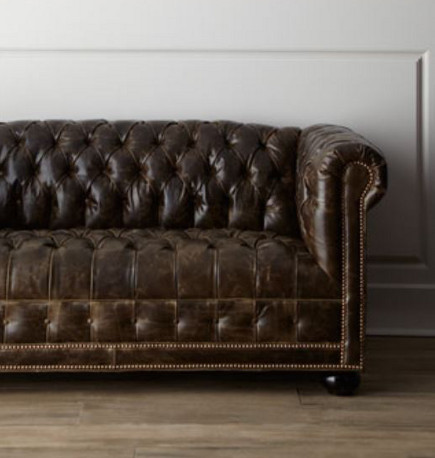 a twopart look at a unique upholstery style starts with the traditional and the