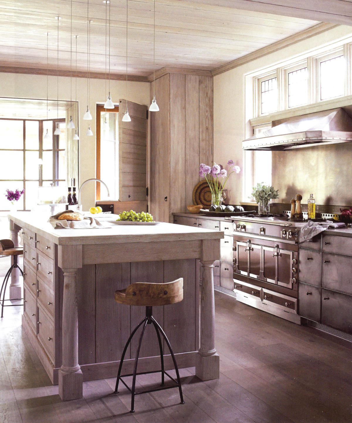 Light Wood Kitchen John Saladino Light Wood Kitchen