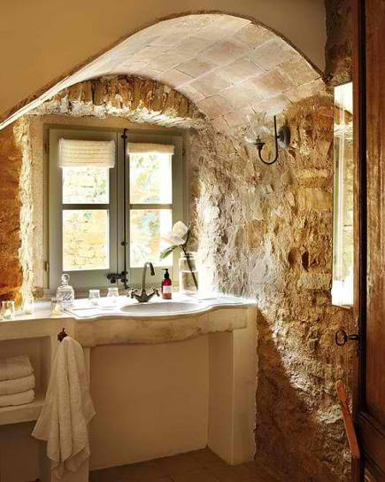 Stone Wall Bathrooms