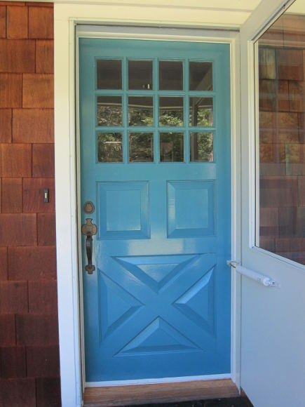 Fine Paints of Europe Zuider Zee blue Dutchlac front door – Atticmag