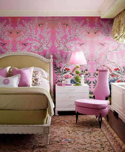 Shocking Pink Rooms - Atticmag