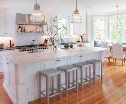 Captivating Updating White Kitchens   Generic White Kitchen   Papyrus Design Via  Atticmag