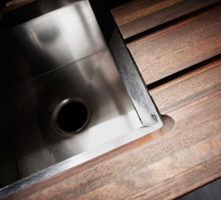 All Black Kitchen Of The Year For 2014 By Steven Miller Kohler Poise Sink In