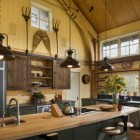 Contemporary Ranch Kitchens