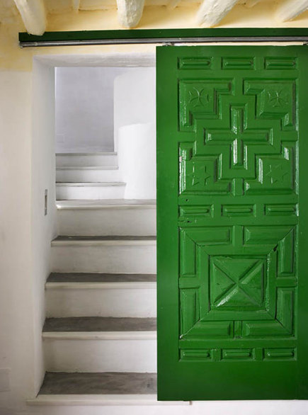 Interior Textured Barn Doors