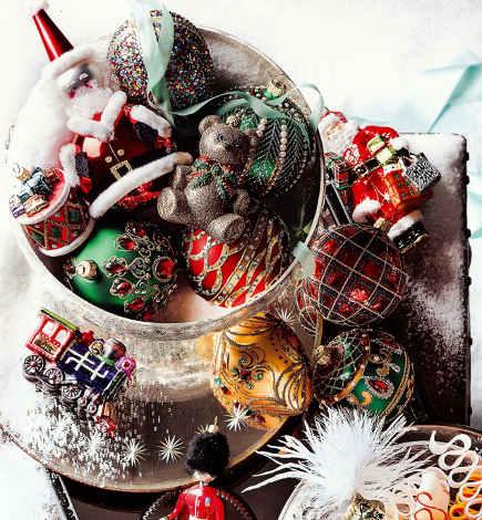 holidays - Christmas ornaments - Neiman Marcus via Atticmag