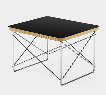 modern museum gifts - Charles Eames wire base table - museum of modern art via atticmag