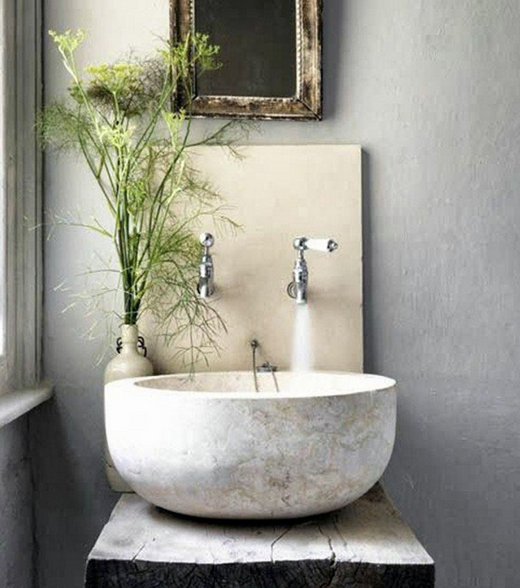 Unique Powder room sinks help set the styles for guest baths u from modern to traditional