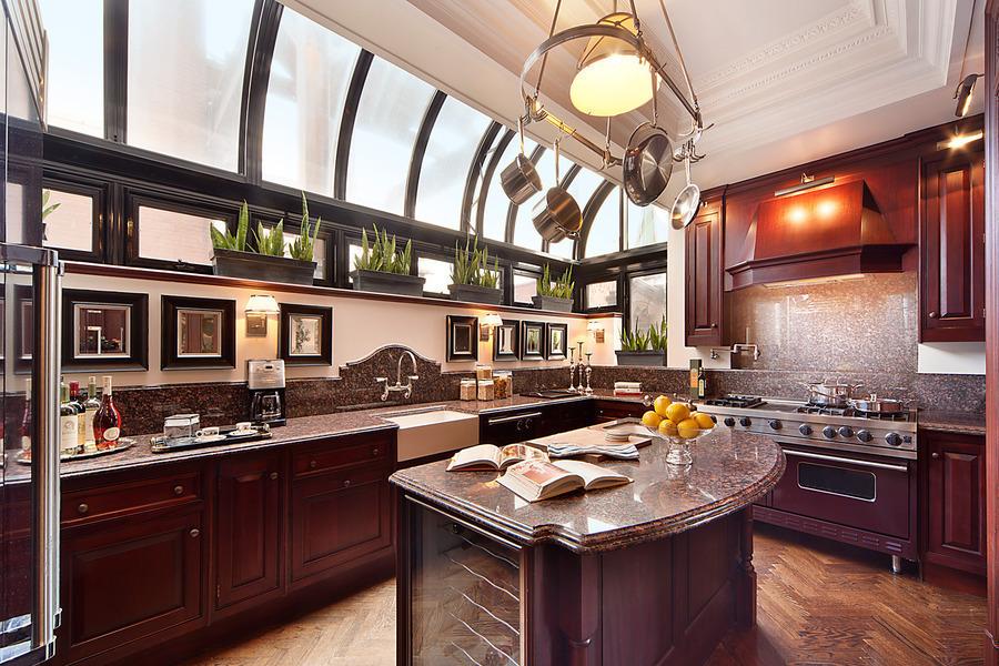 Beautiful Greenhouse Kitchen   U201cbeforeu201d View Across The Brown Kitchen In Nate Berkus  And Jeremiah