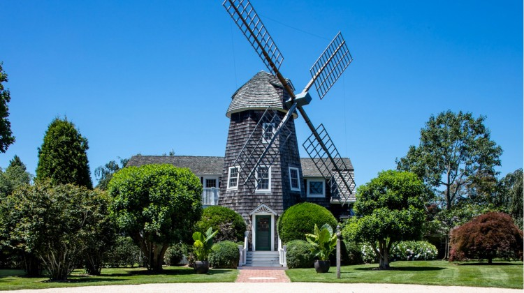 DeRose Windmill Cottage - a historic Victorian house with attached windmill - Brown, Harris Stevens via Atticmag