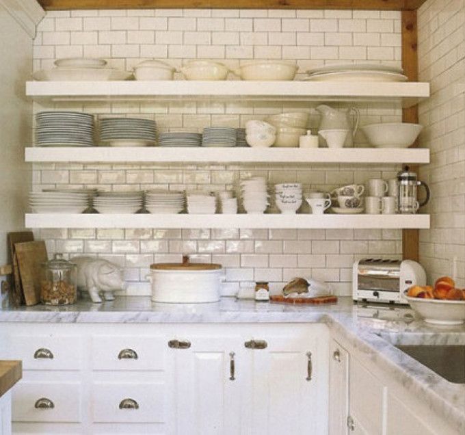 Kitchens Are More Interesting As Rooms When They Are Move Away From  Fortress Cabinets To Open Kitchen Shelves.