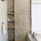 Pebble Tile Bathrooms