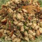 Sourdough Mushroom Turkey Stuffing