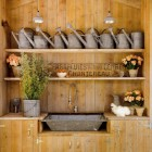 Agrarian Utility Sink Wall