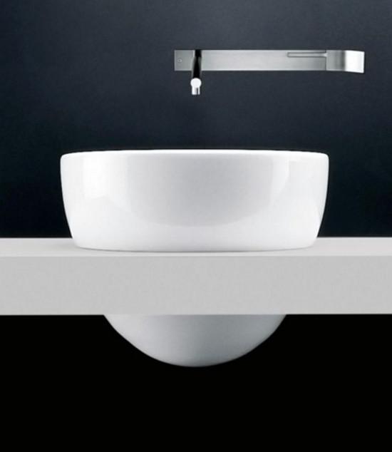 Good exotic bathroom sinks Claudio Silvestrin us I Fiumi ceramic sink for Boffi Boffi via Atticmag