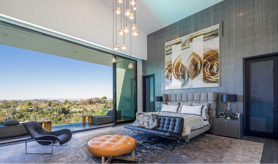 modern mansion master bedrooms